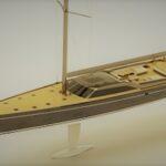 Новый стильный парусник Prоject-405 от Royal Huisman